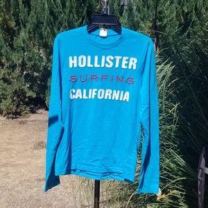 Hollister Long Sleeved T Shirt